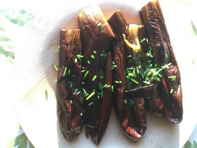 Baked Japanese Eggplant (Healthy Agebitashi Eggplant Alternative)